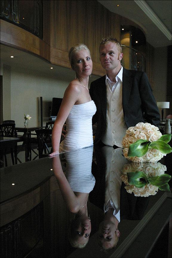 Dori Moreno, The Hyatt, wedding
