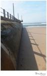 A shadowy pier
