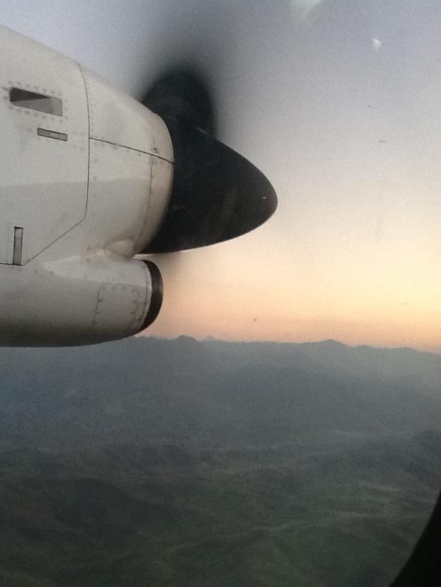 En route to Luang Prabang