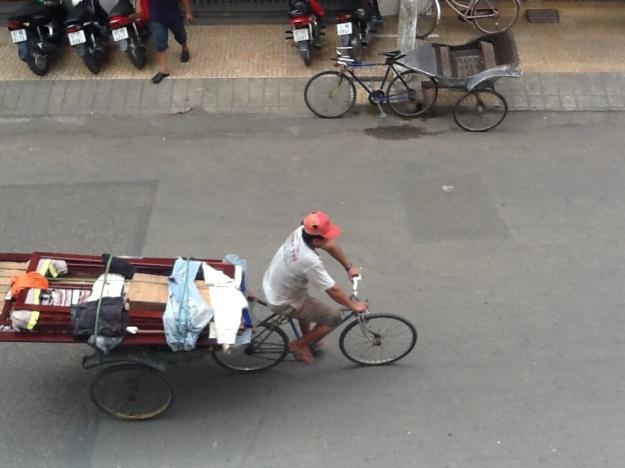 Bicycle transport in Vietnam