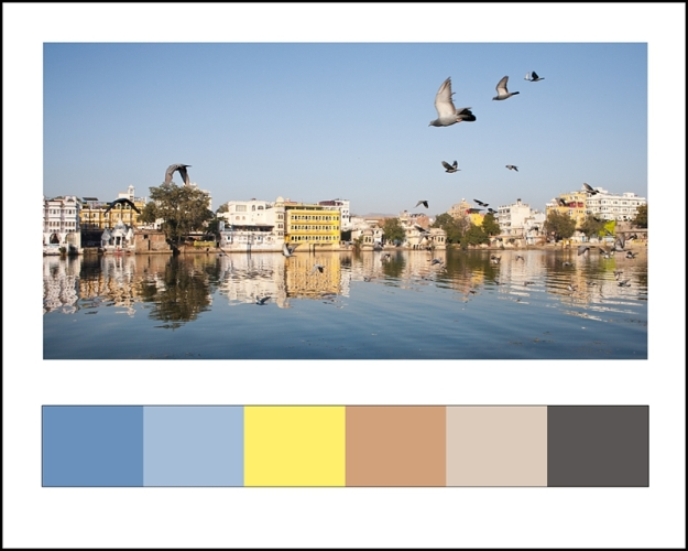 Udaipur, India, reflections, Dori Moreno, photograph, India